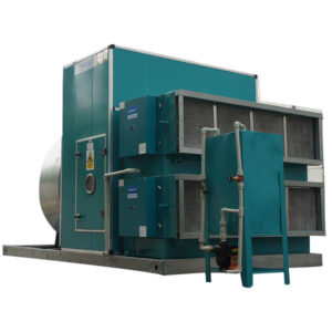 dry air scrubber with ESP